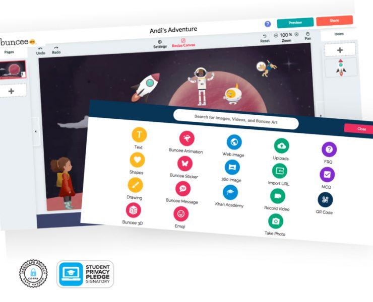 Buncee screenshot